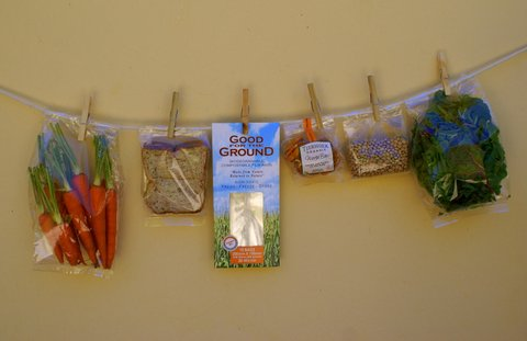 Good for the Ground bags - clothesline